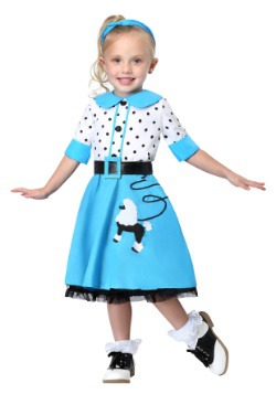Sock Hop Cutie Toddler Costume