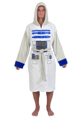 Star Wars R2D2 Fleece Robe for Men