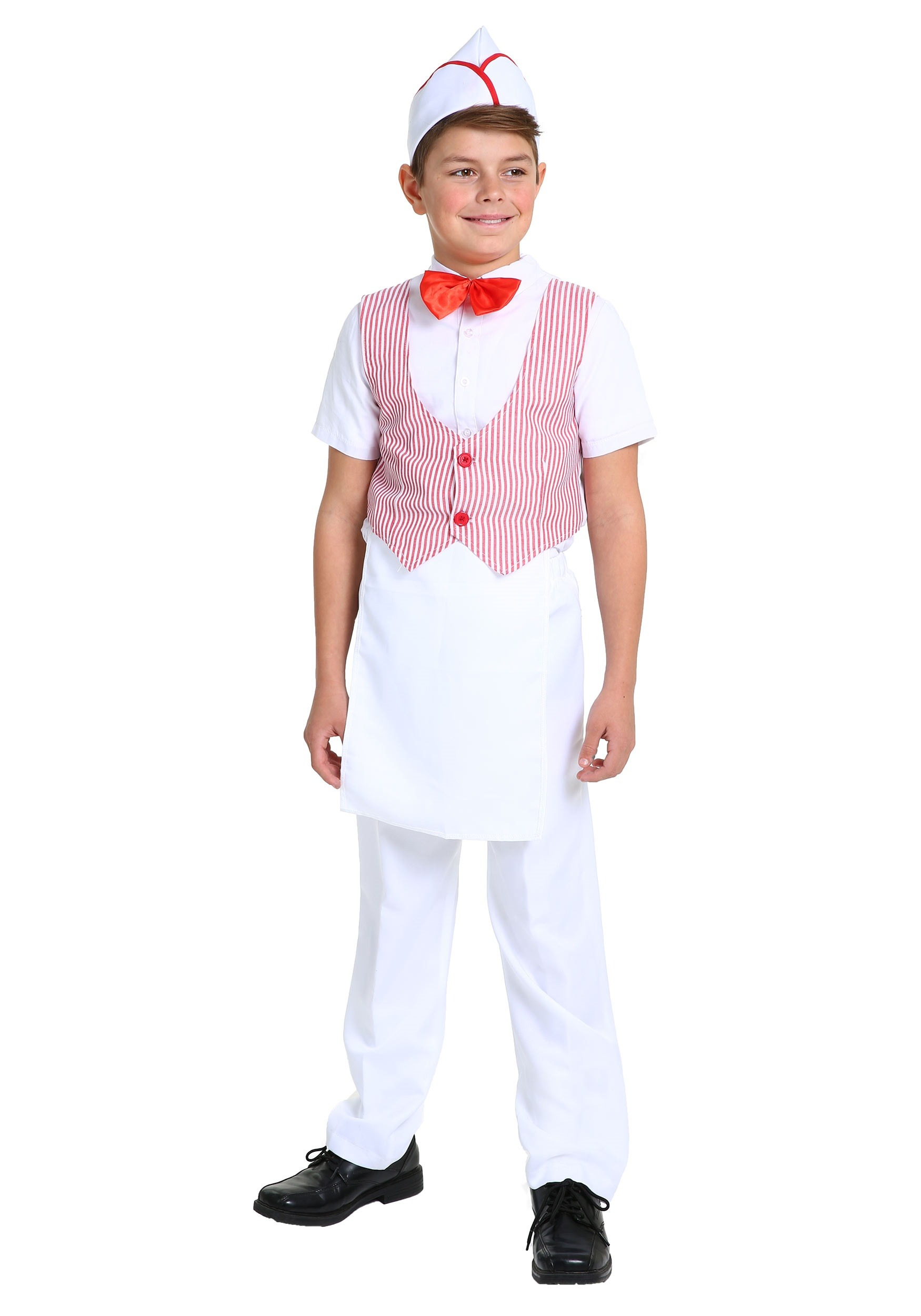 50 Halloween Hair And Makeup Tutorials: 50s Car Hop Costume For Boys