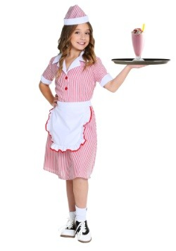 Girl's 50's Car Hop Costume