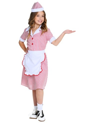 Click Here to buy 50s Car Hop Girls Costume from HalloweenCostumes, USA Funds & Shipping