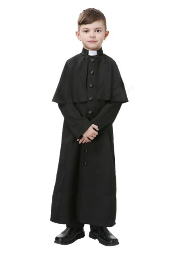 Click Here to buy Deluxe Priest Boys Costume from HalloweenCostumes, CDN Funds