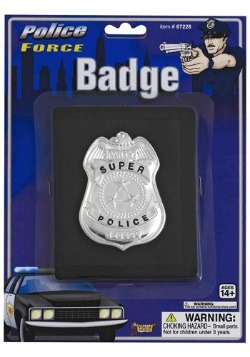 Police Badge on Wallet
