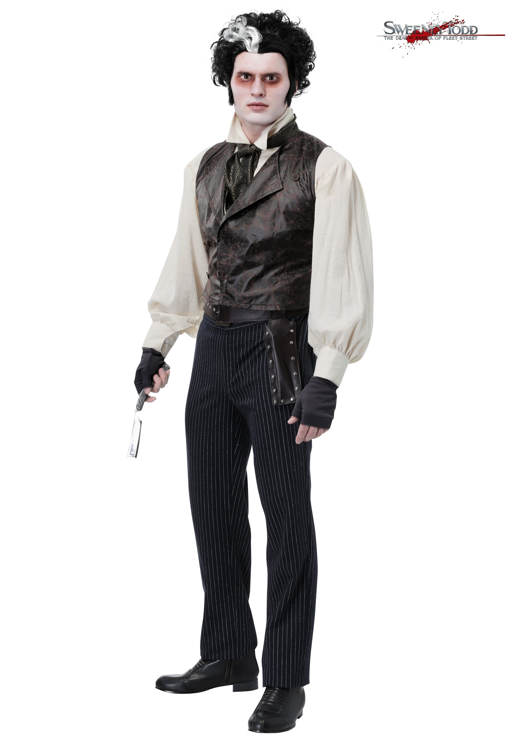 Sweeney Todd Costume For Men