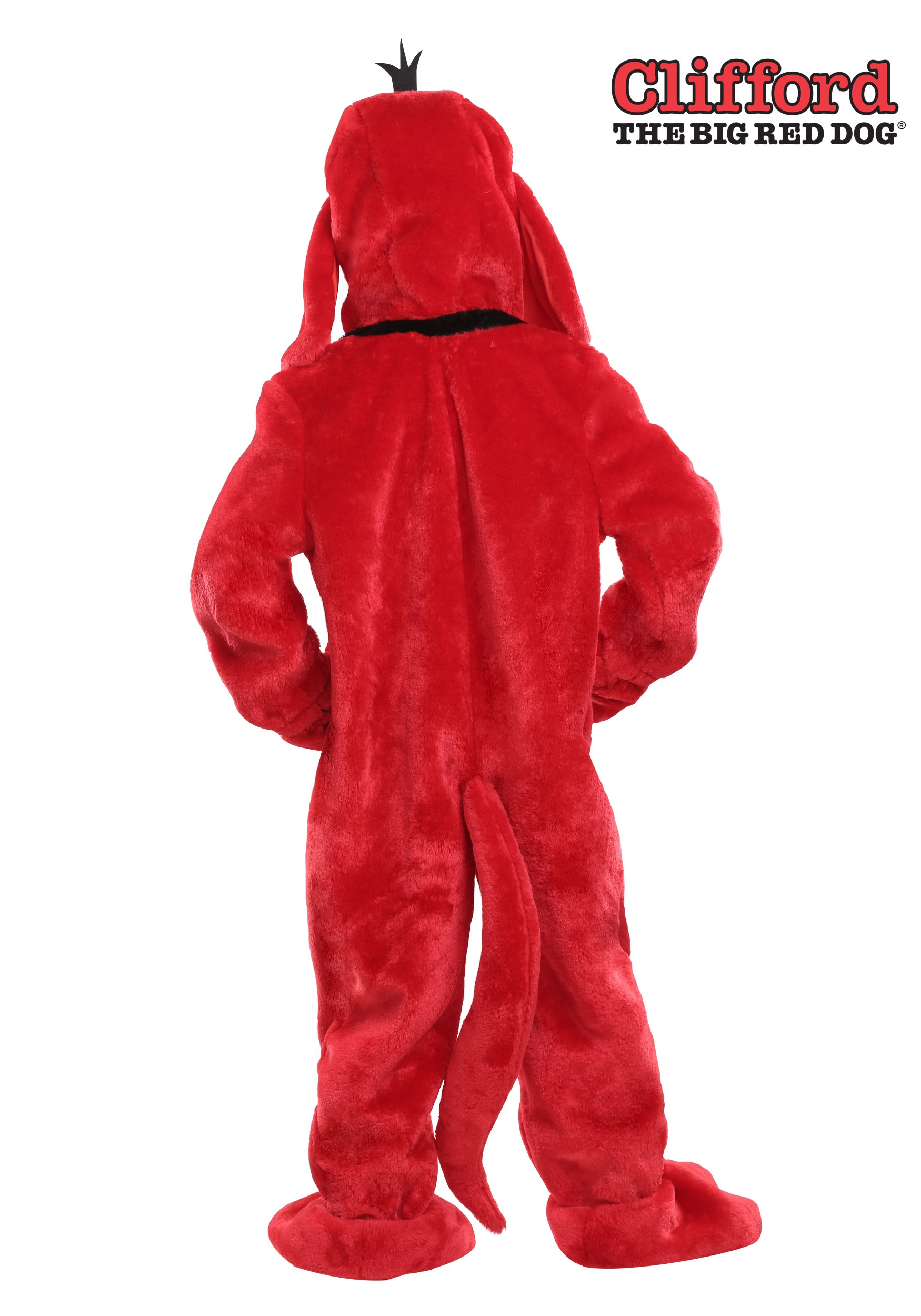 clifford the big red dog kids costume1