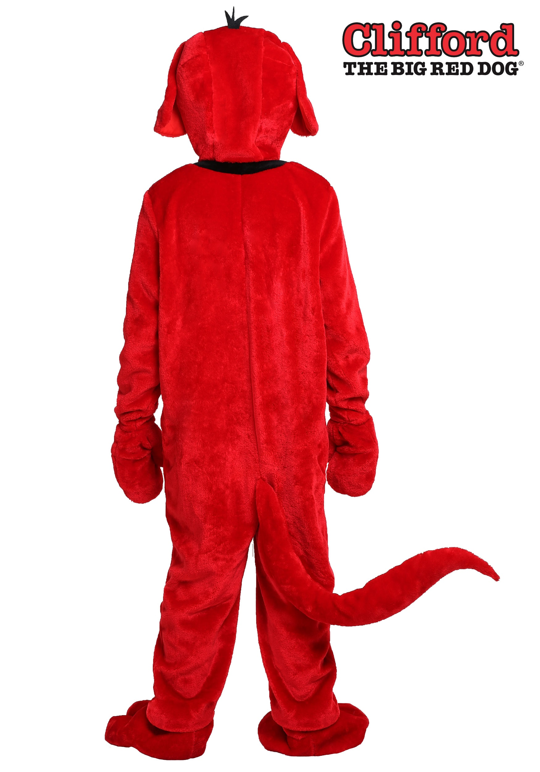 Clifford The Big Red Dog Plus Size Costume For Adults 2X 3X-9399