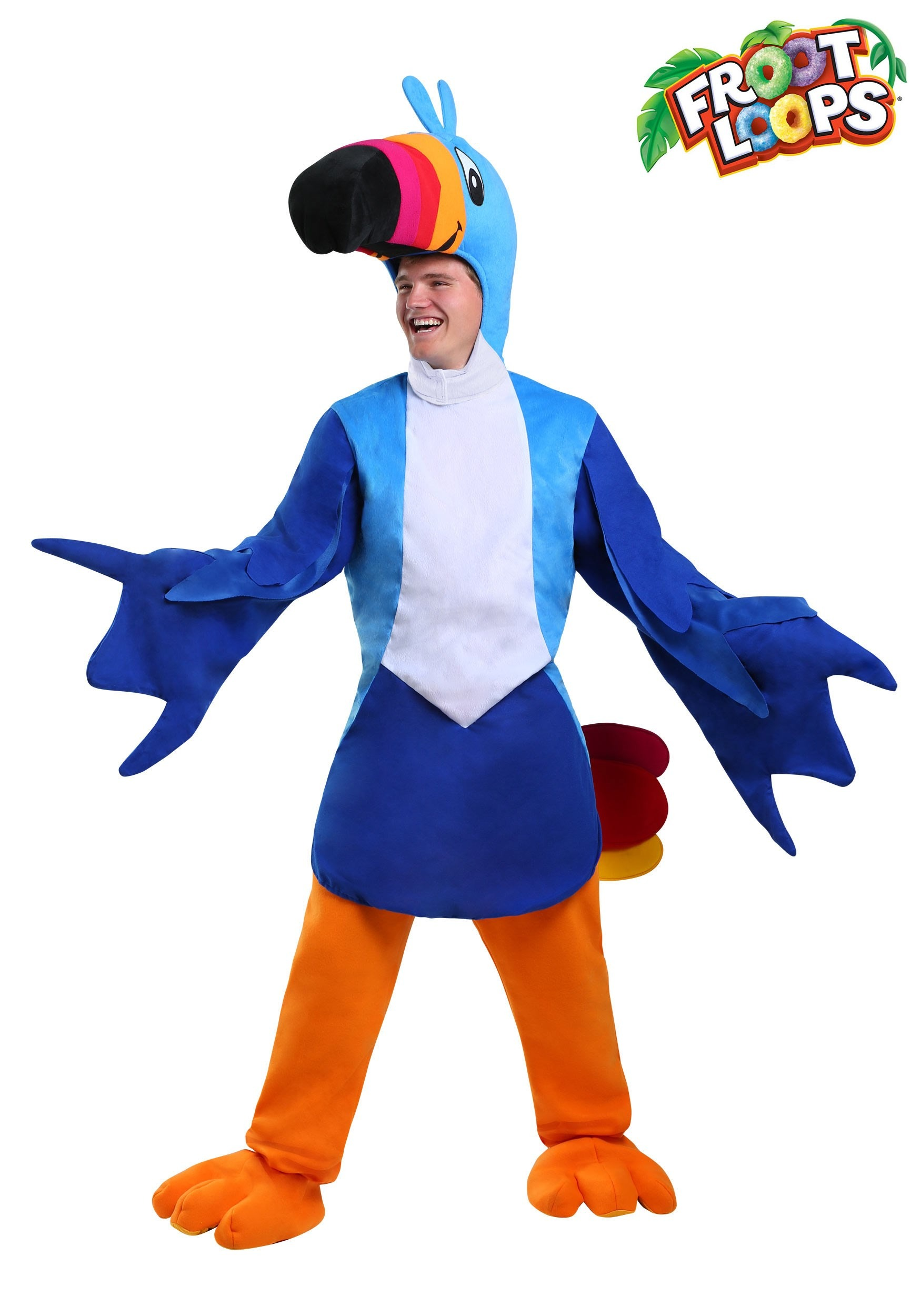 Results 181 240 of 644 for indoor halloween decorations - Toucan Sam Adult Costume