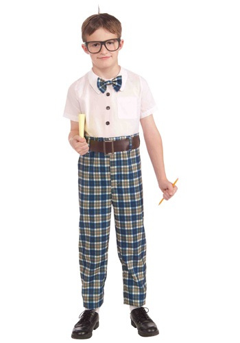 Click Here to buy Kids Class Nerd Costume from HalloweenCostumes, CDN Funds