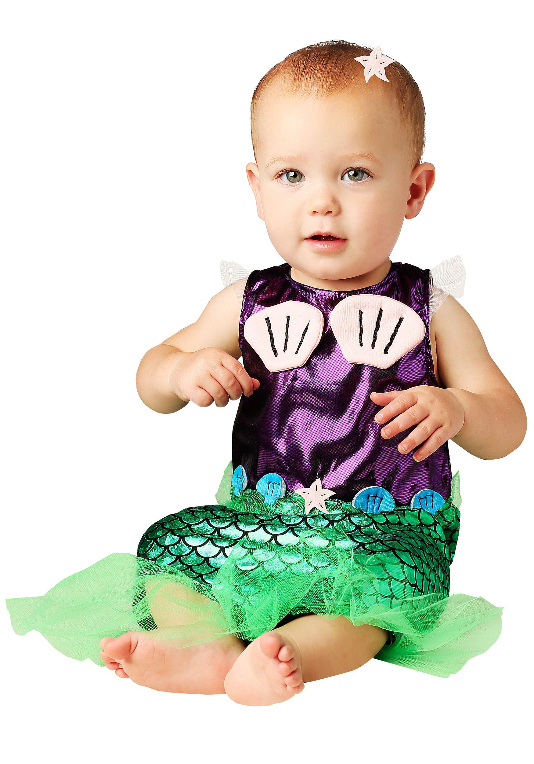 Infant Mermaid Costume Girls