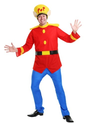 Click Here to buy Rice Krispies Pop Elf Costume for Adults from HalloweenCostumes, CDN Funds