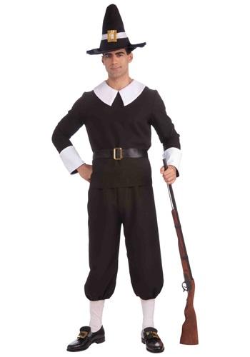Traditional Pilgrim Mens Costume