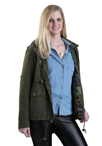 Marvel Womens Cargo Fashion Jacket