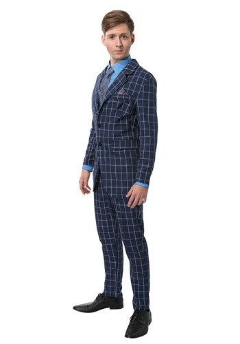 Click Here to buy Hannibal Lecter Plus Size Costume Suit for Men 2X from HalloweenCostumes, CDN Funds