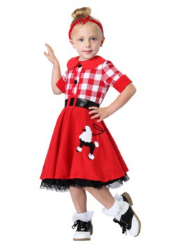 50's Darling Toddler Costume