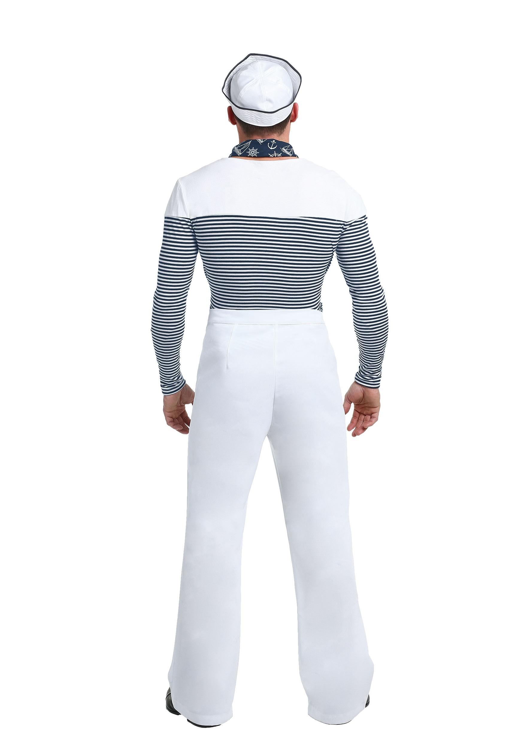 vintage sailor costume for men