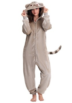 Adult Pusheen Cat Kigurumi Costume-update1