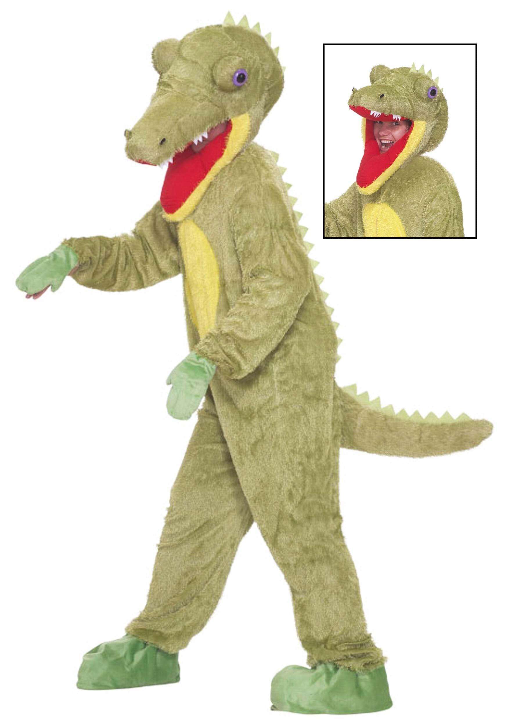 sc 1 st  Halloween Costumes & Mascot Crocodile Costume