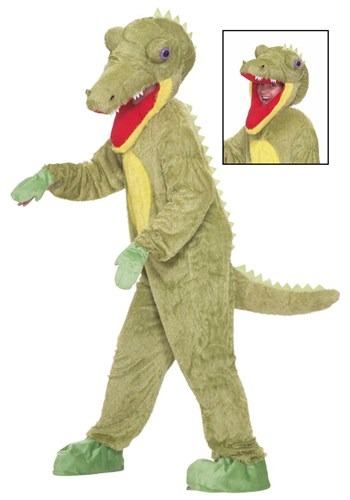 Click Here to buy Mascot Crocodile Costume from HalloweenCostumes, USA Funds & Shipping