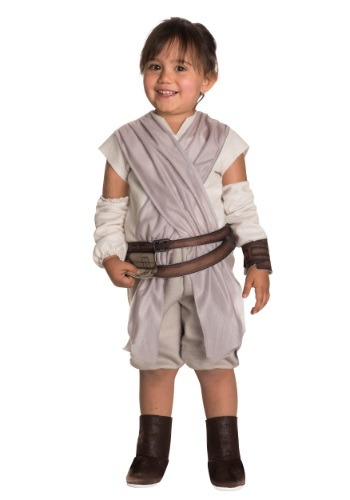 Toddler Girls Star Wars The Force Awakens Rey Costume RU510192