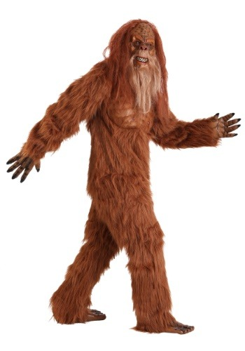 Plus Size Bigfoot Costume