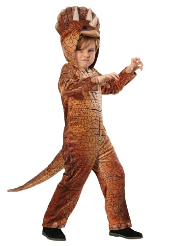 Click Here to buy Triceratops Kids Dinosaur Costume from HalloweenCostumes, CDN Funds