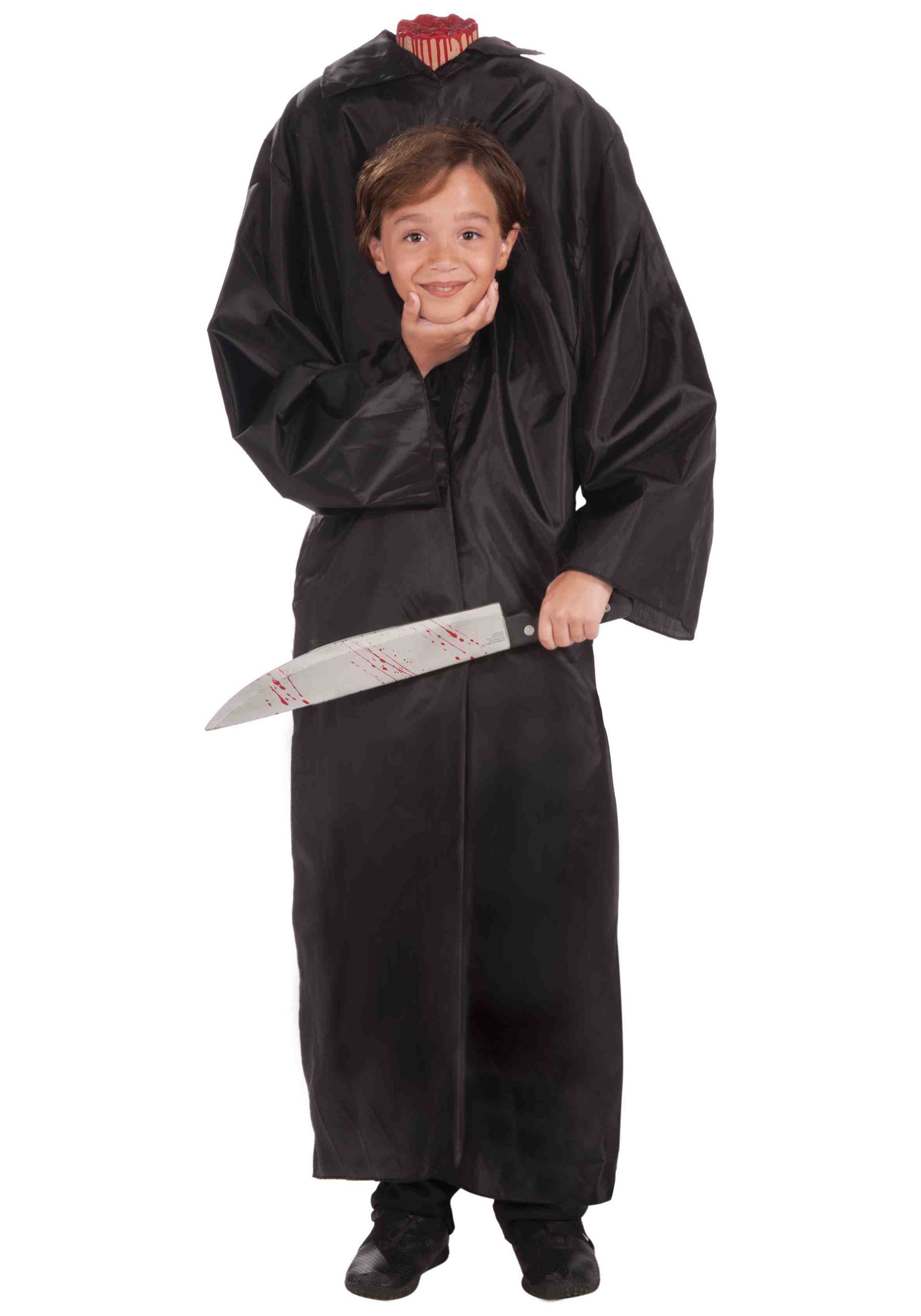 child headless boy costume
