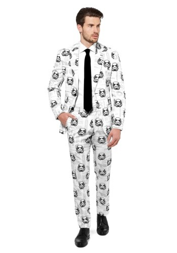 Click Here to buy Mens OppoSuits Star Wars Stormtrooper Suit from HalloweenCostumes, USA Funds & Shipping