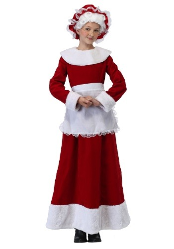 Mrs. Claus Costume for Girls