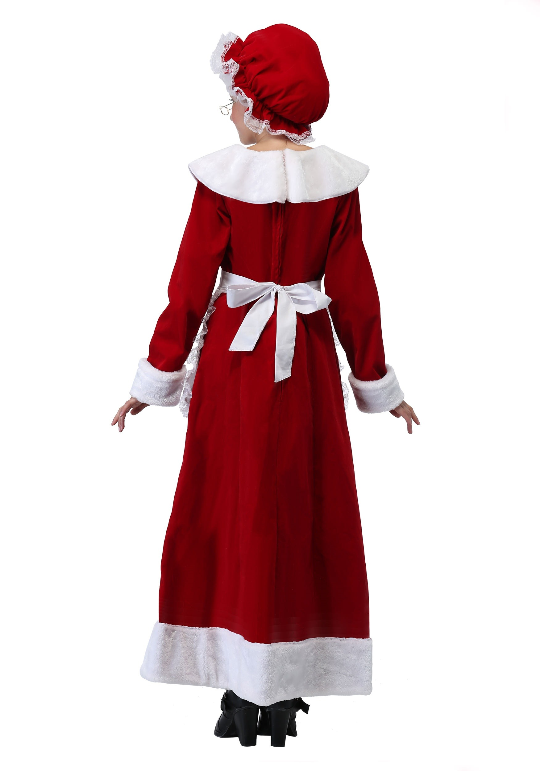 Mrs claus costume for girls