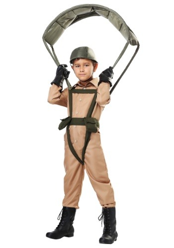 Click Here to buy Paratrooper Kids Costume from HalloweenCostumes, USA Funds & Shipping