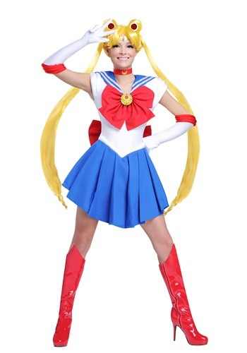 Click Here to buy Sailor Moon Womens Costume from HalloweenCostumes, CDN Funds