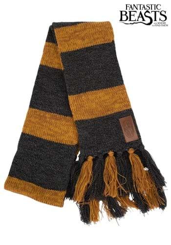 Newt Scamander Hufflepuff Knit Scarf upda