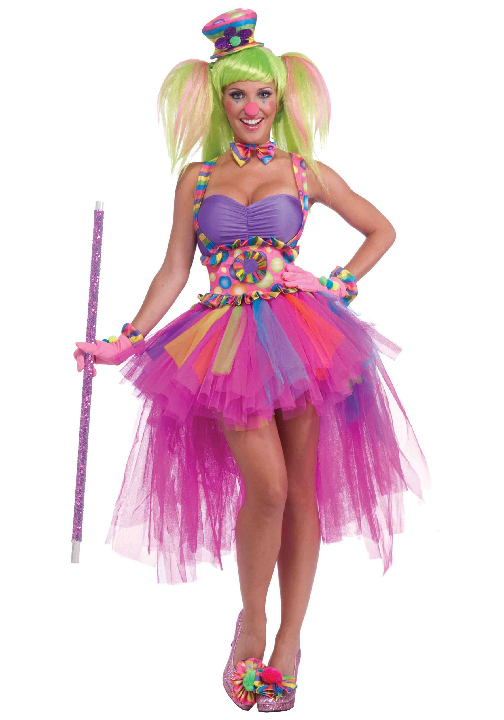 Tutu lulu the clown costume for Disfraces de circo