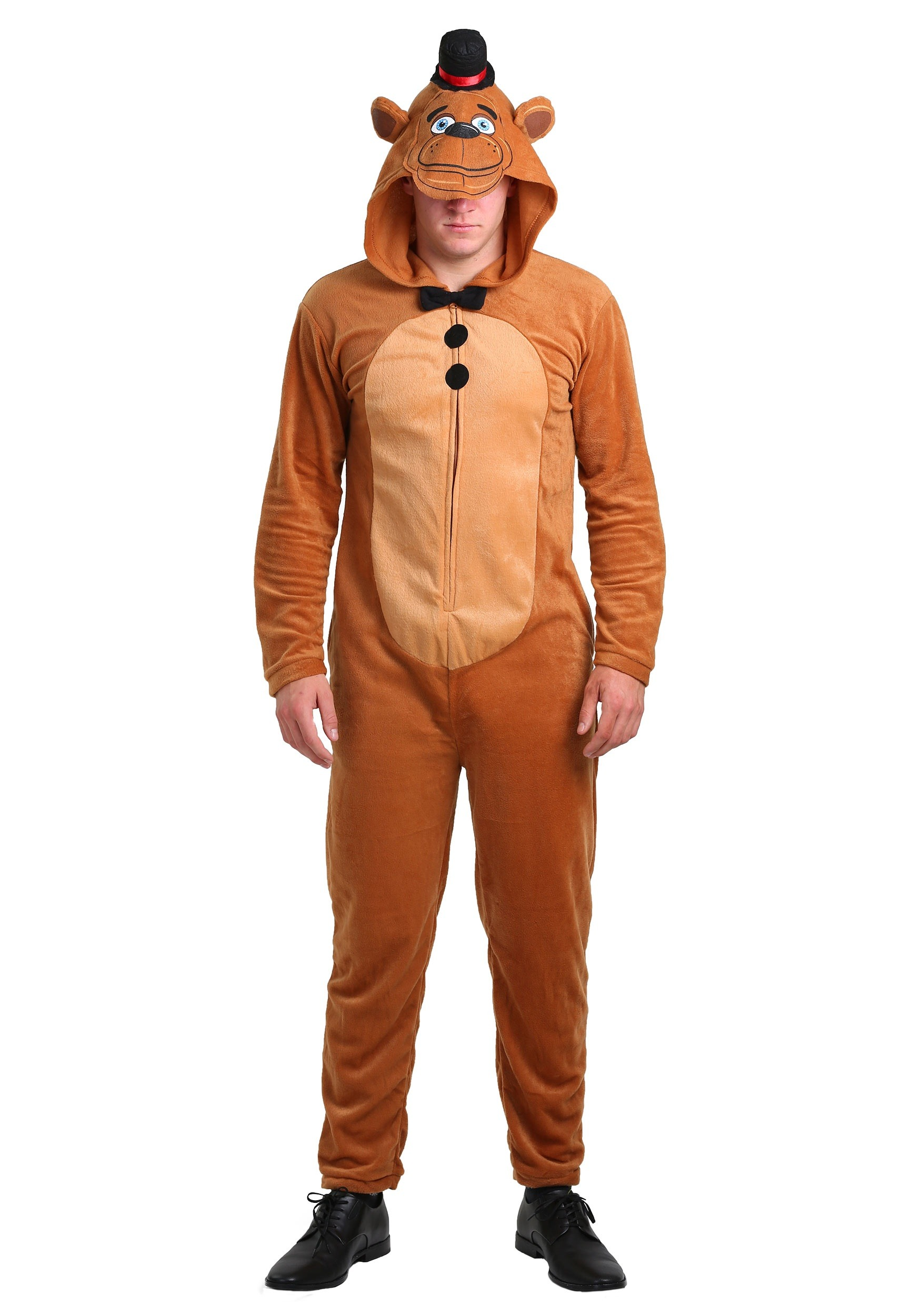 five nights at freddys mens union suit costume