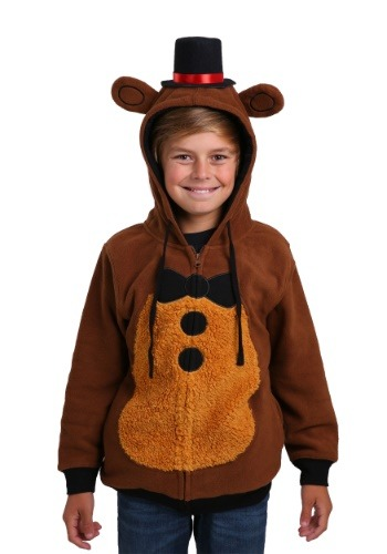 Image of Five Nights at Freddys Costume Hoodie for Boys