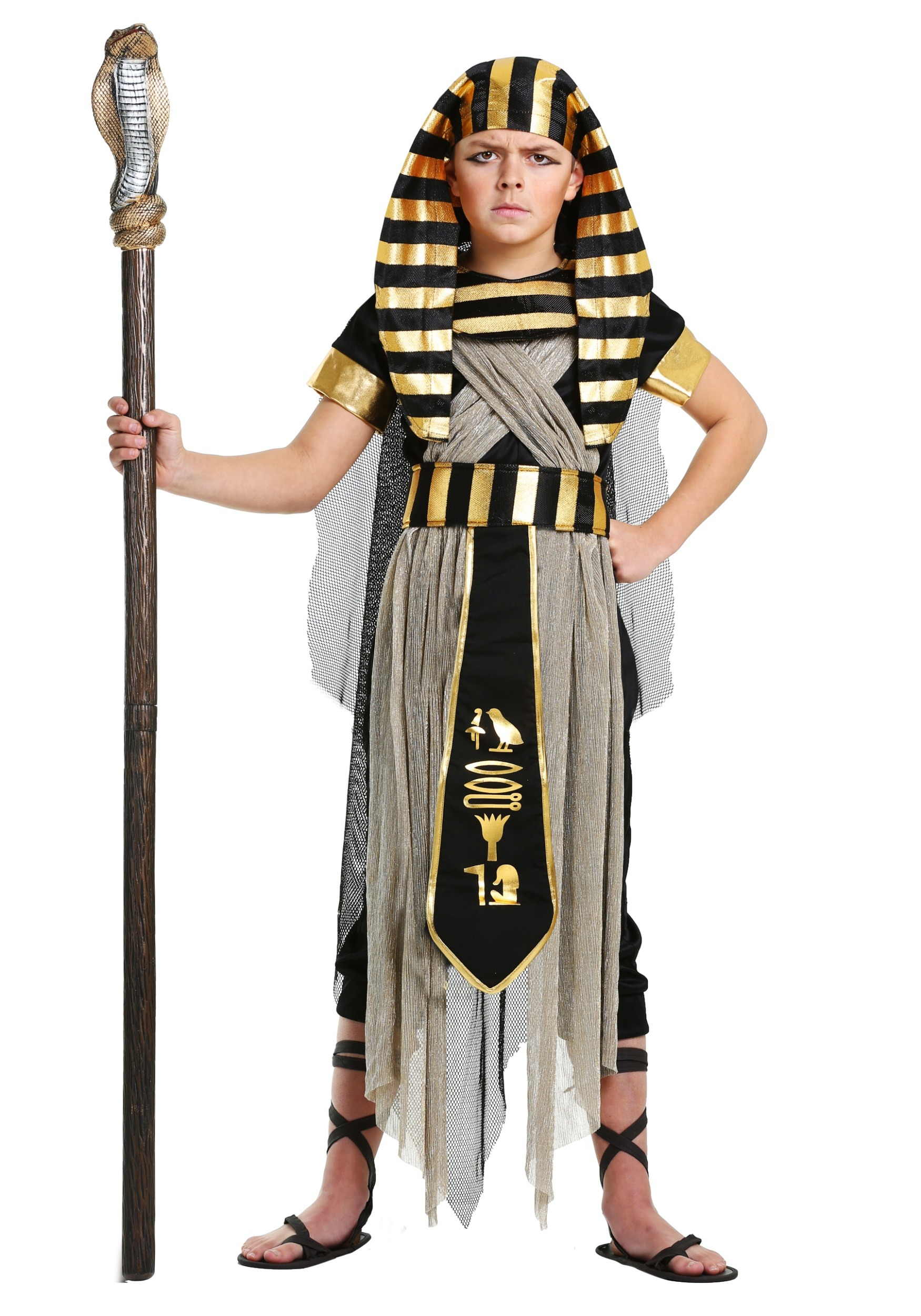 Egyptian costumes childrens male sexy egyptian costume boys all powerful pharaoh solutioingenieria Image collections