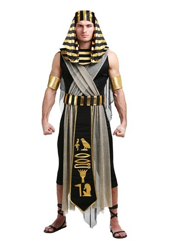 All Powerful Pharaoh Men's Costume – Size: S – Polyester