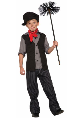 Chimney Sweep Costume for Kids FO78976-L