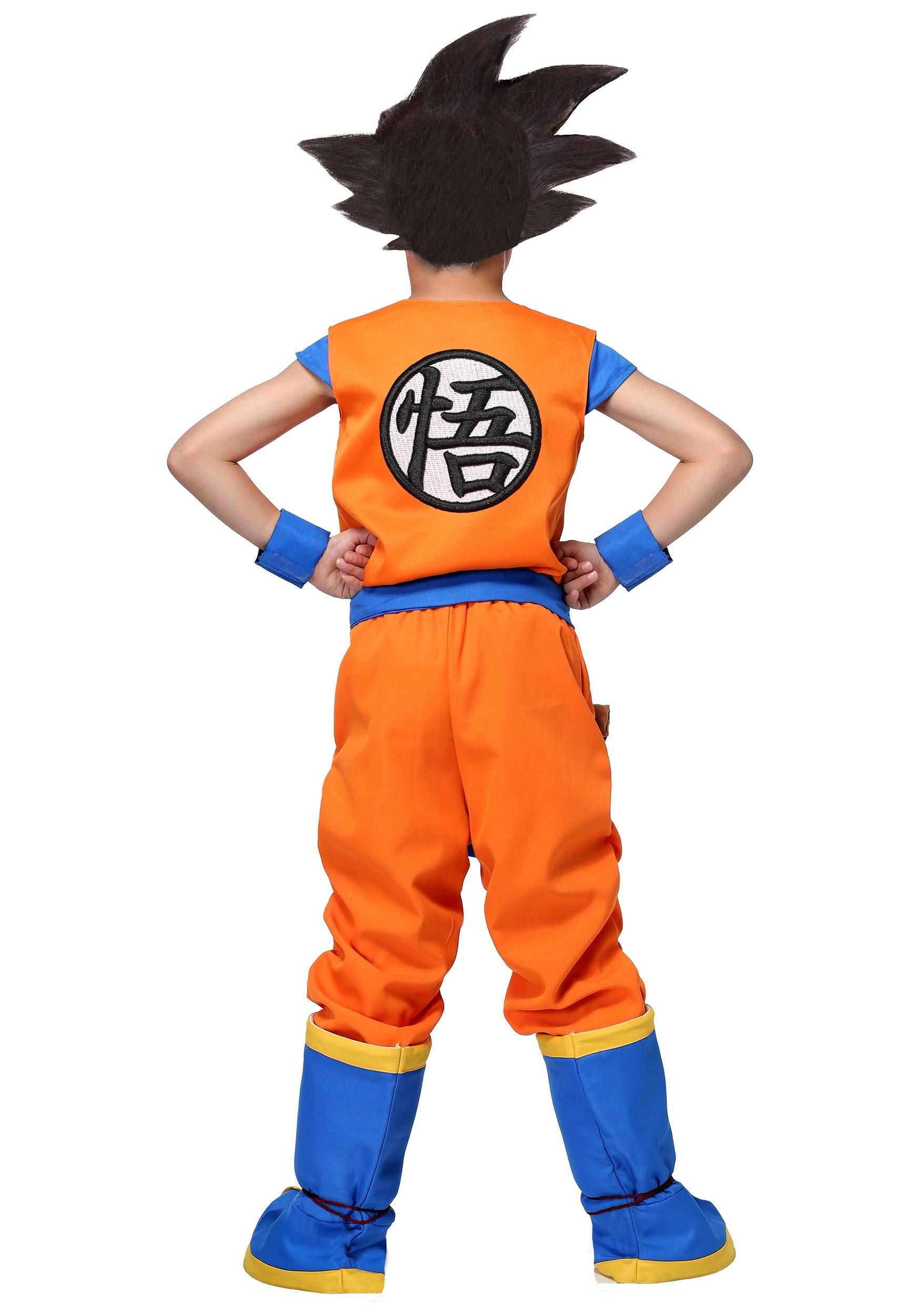 Dragon Ball Z Authentic Goku Costume For Kids