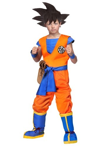 Dragon Ball Z Authentic Goku Costume for Kids