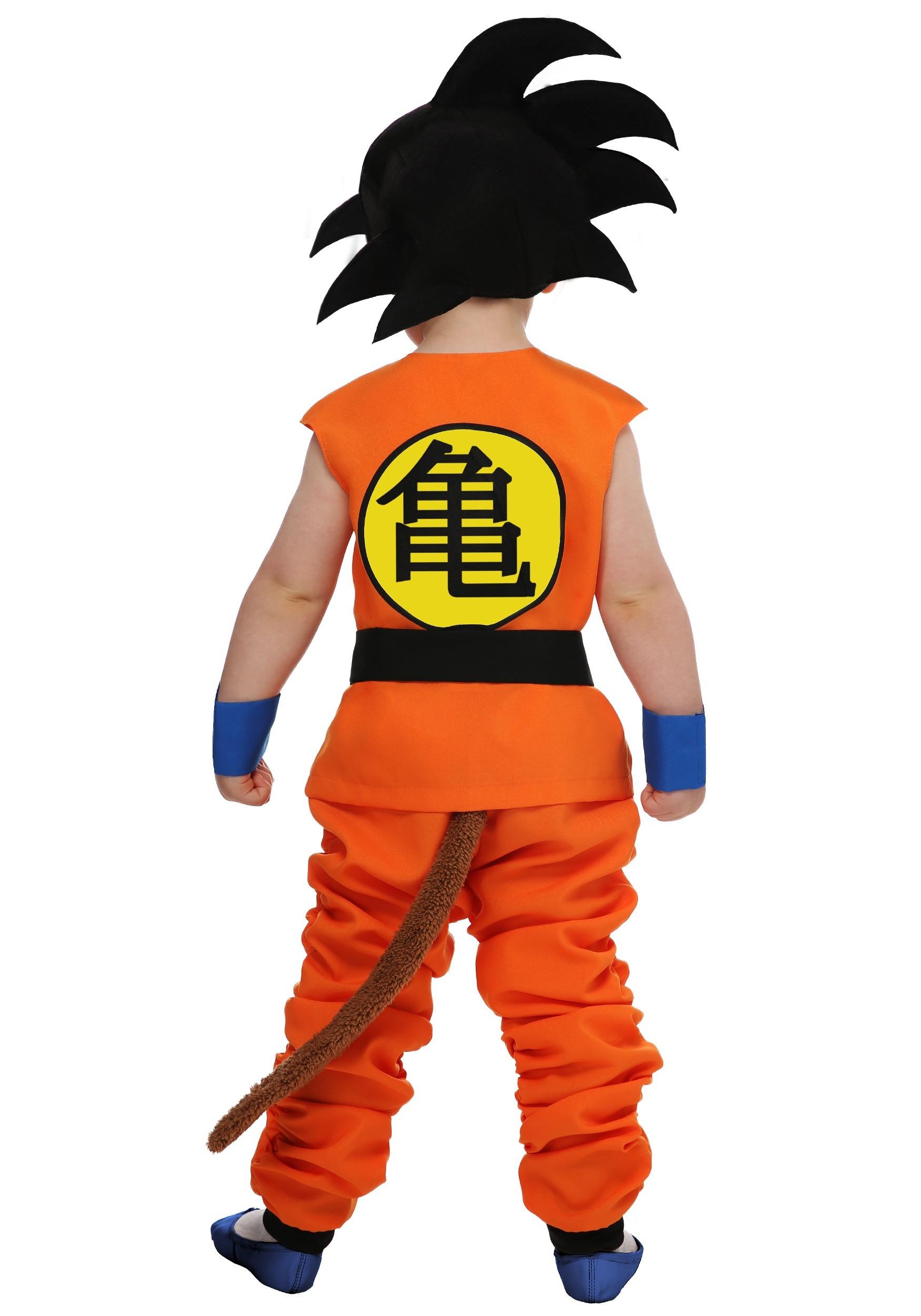Dragon Ball Kid Toddler Goku Costume