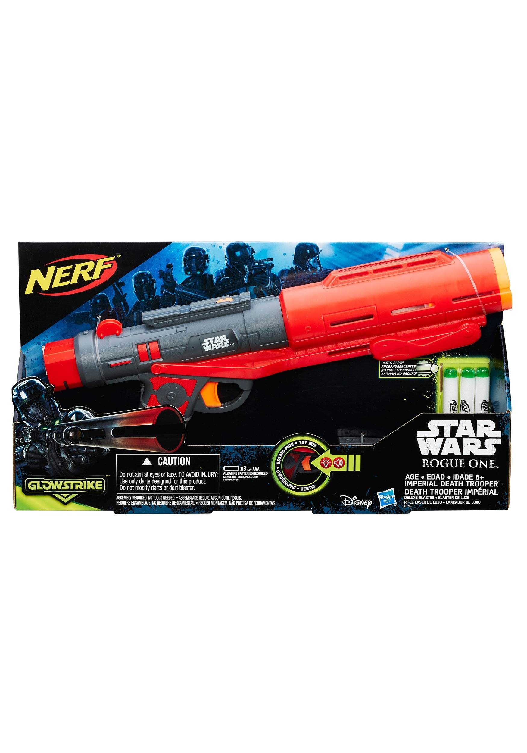 Rogue One Imperial Death Trooper Deluxe Nerf Blaster EEDHSB7765