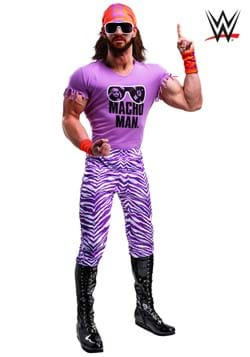 WWE Adult Macho Man Madness Costume1