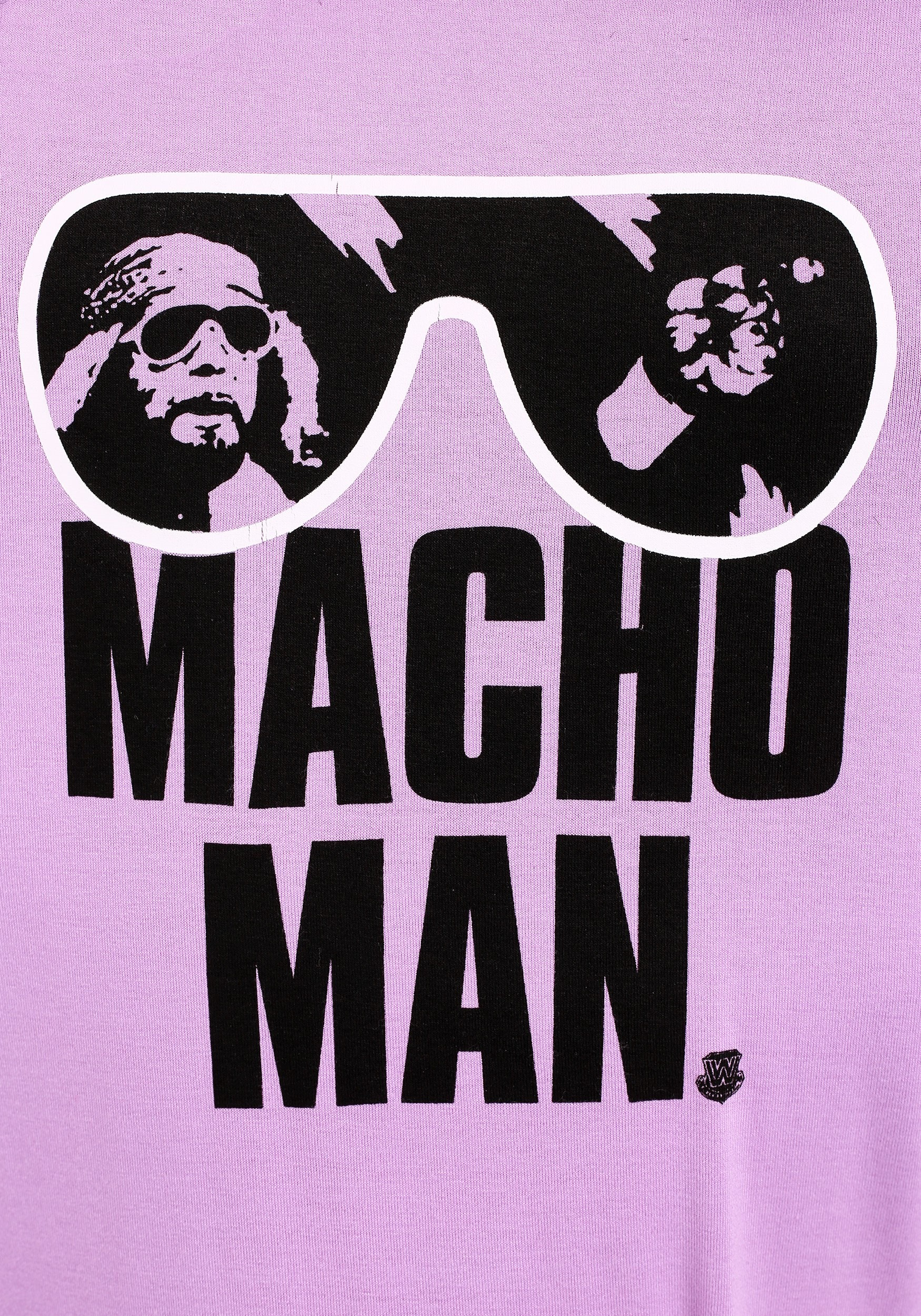 a51ba93d Macho Man Pink T Shirt | Top Mode Depot