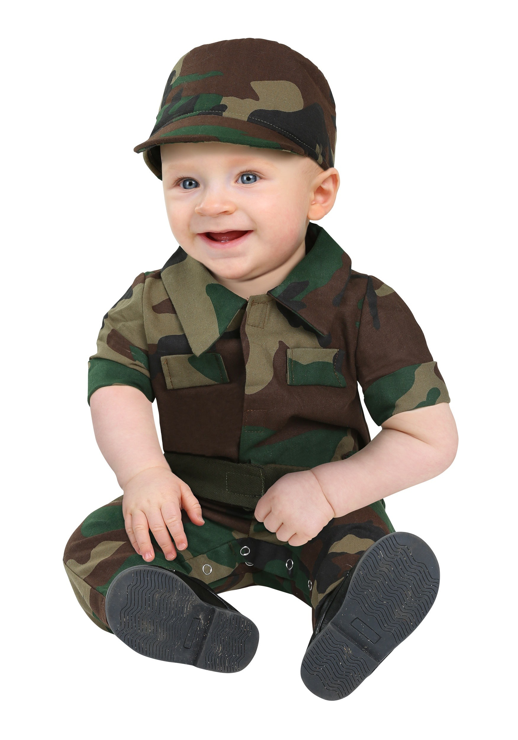 Infantry Soldier Costume for Infants
