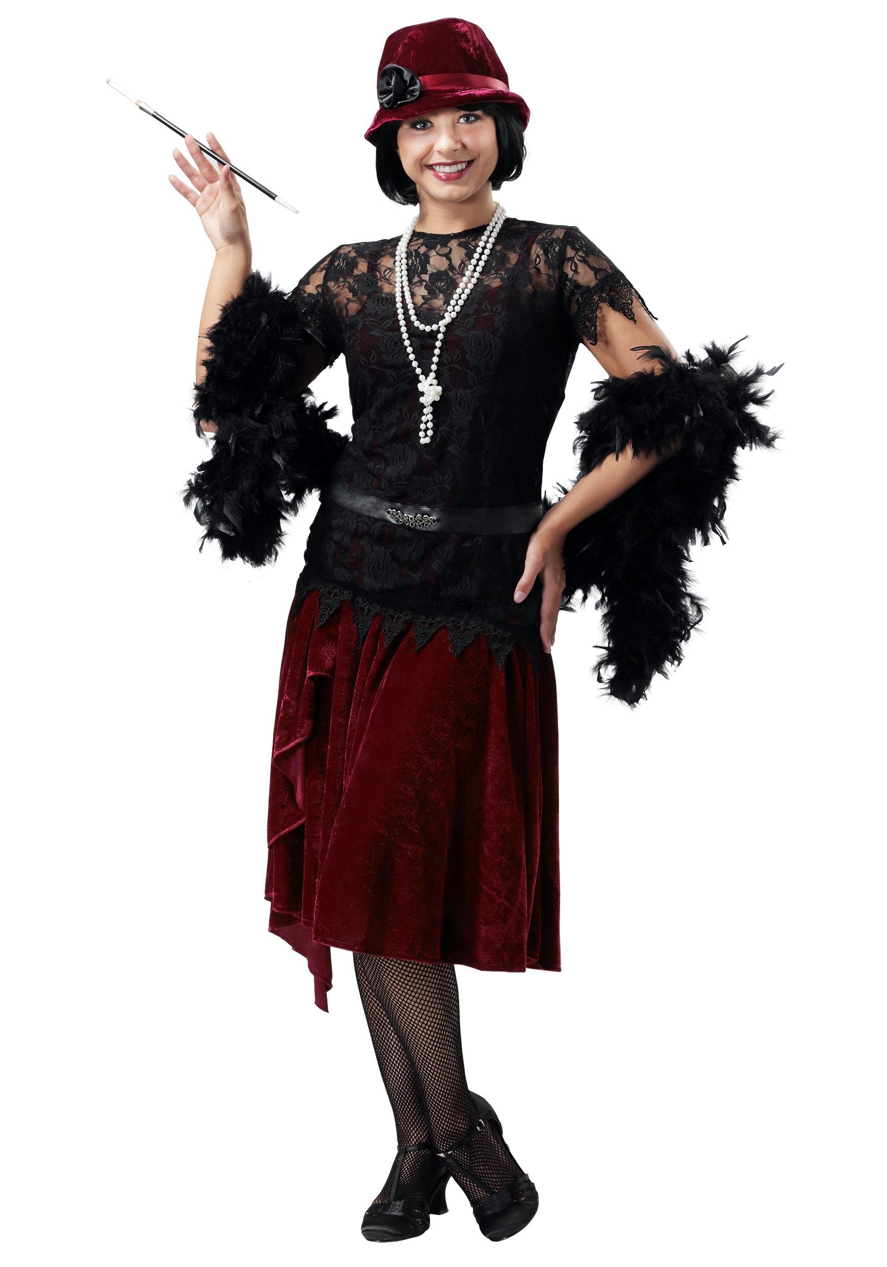 Plus Size Flapper Costumes - Adult 1920\'s Flapper Dress Costume
