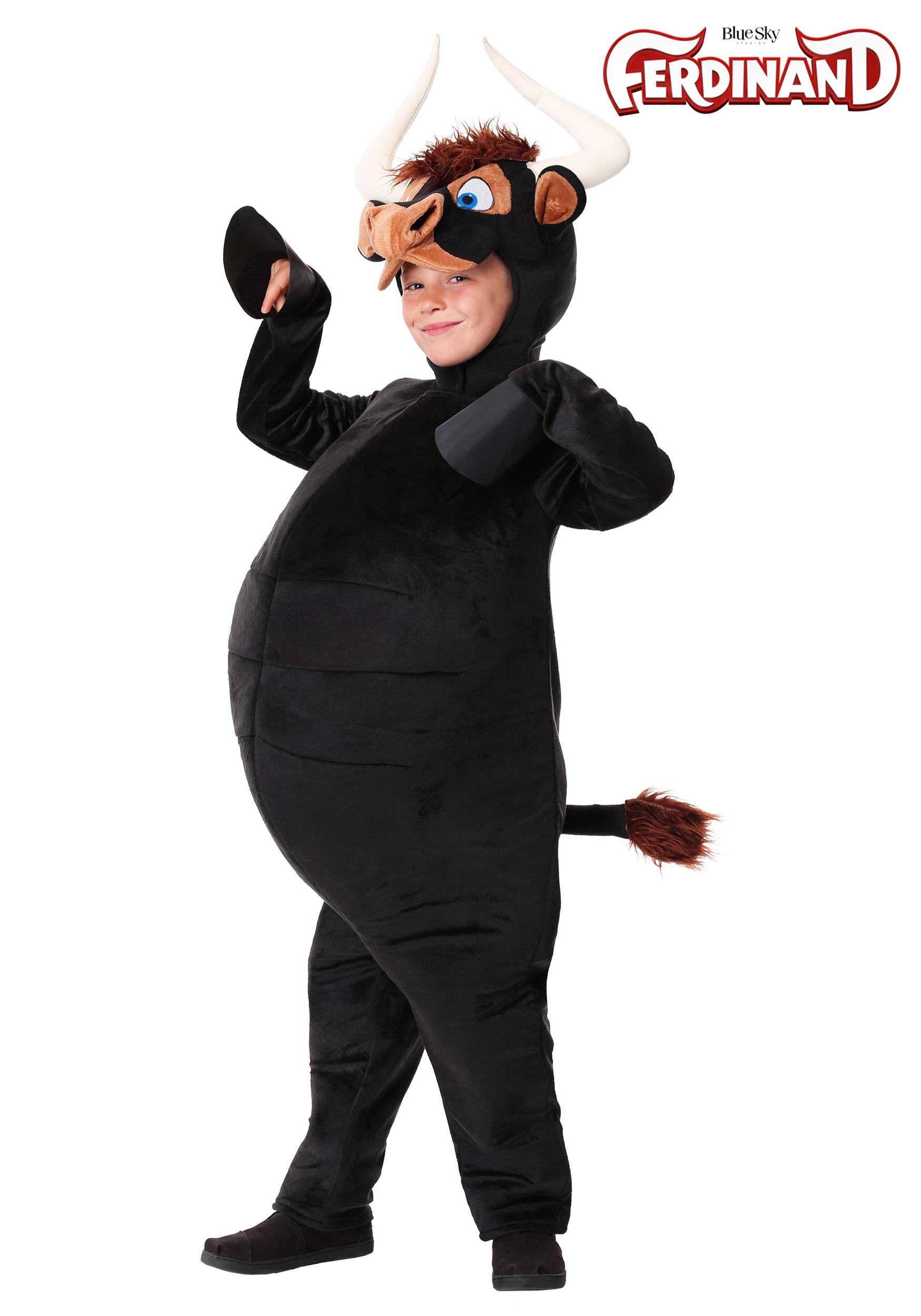 child ferdinand bull costume