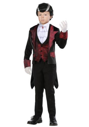 Boys Dashing Vampire Costume
