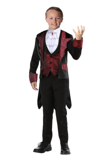 Click Here to buy Dashing Vampire Boys Costume from HalloweenCostumes, CDN Funds