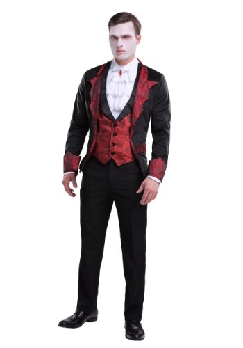 Click Here to buy Dashing Vampire Mens Costume from HalloweenCostumes, CDN Funds